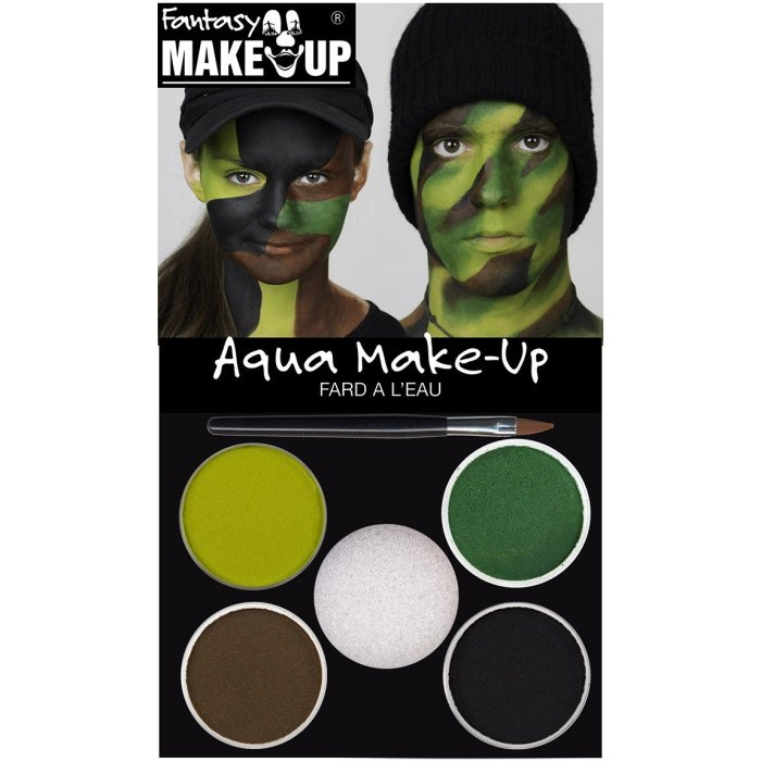 Aqua make-up set camouflage